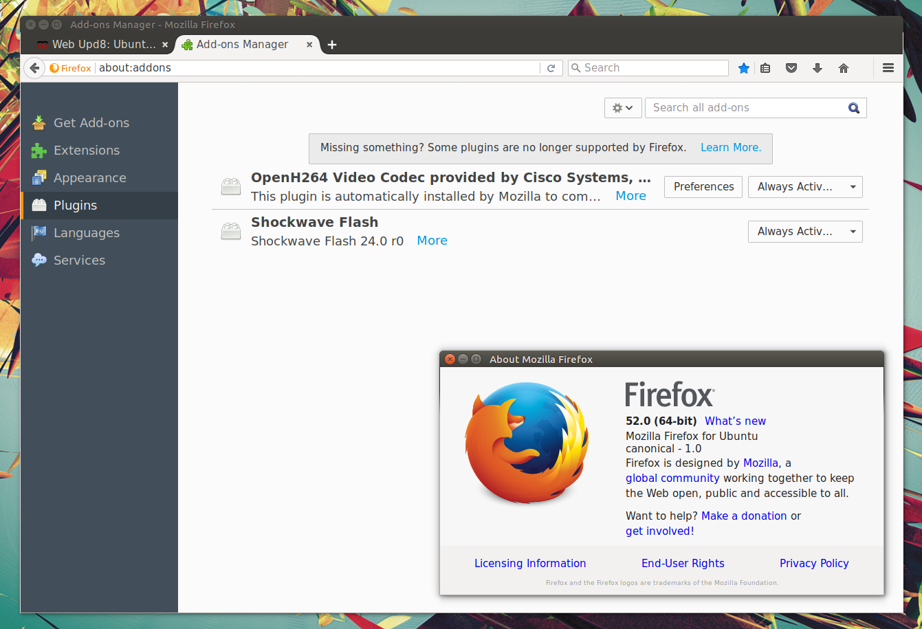 Java Plugin For Firefox Firefox 52 Released With Webassembly Support, Removes