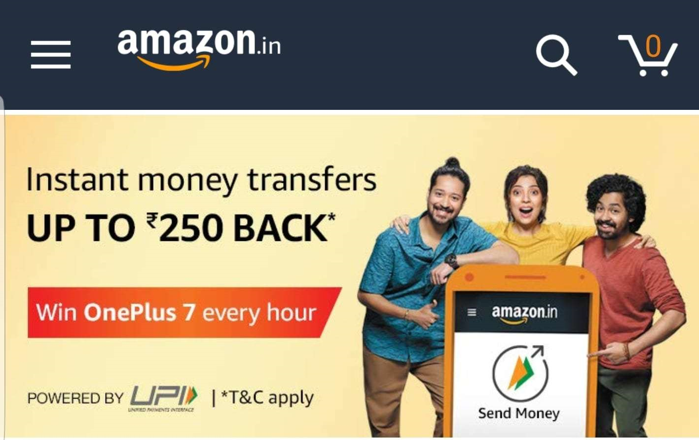 Amazon UPI Referral Offer: Refer And Earn Rs.31 Per Friend