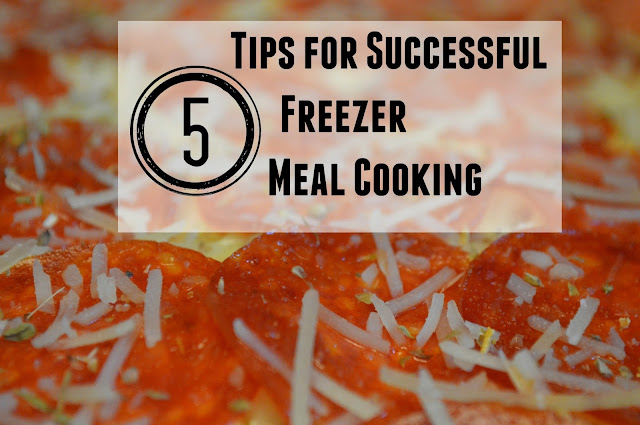 Freezer Meal Tips