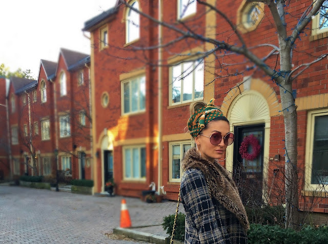 Headwrap, turban, how to wear a headwrap, how to style a jumpsuit, eclectic style, how to style a headwrap, how to wear headwrap every day, toronto blogger, best of toronto style, toronto streetstyle, best street style, zara sock ankle boots, winners fabfinds, winners style, chanel classic maxi bag, chanel handbag, chanel quilted bag