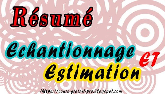 t u00e9l u00e9charger r u00e9sum u00e9 echantillonnage et estimation  s3  pdf