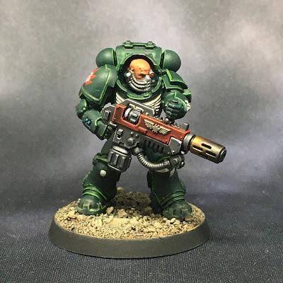 Dark Angels Eradicator Sergeant