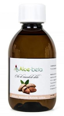 Olio di mandorle dolci Aloe-beta è emolliente