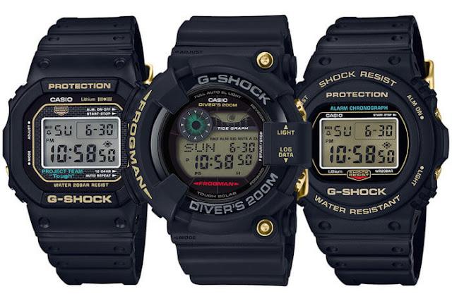Koleksi G-Shock Ulangtahun Ke-35 Koleksi Emas
