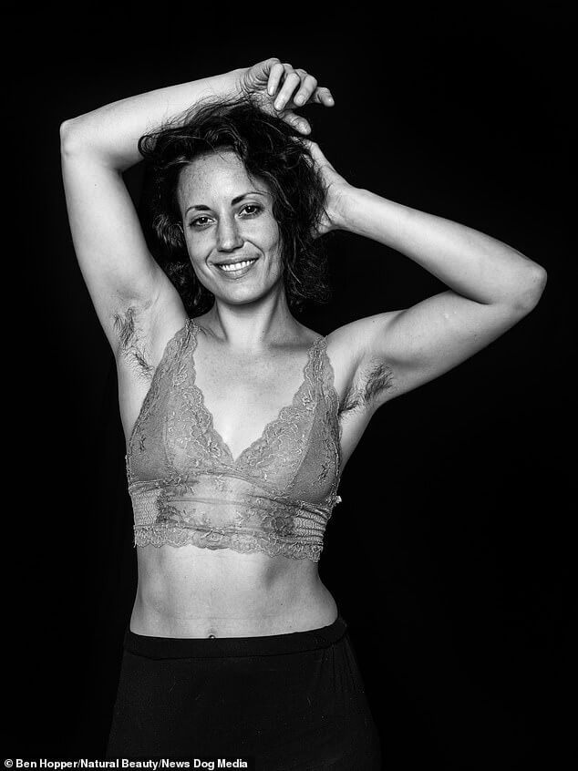 Black And White Photo Series Features Women Who Choose Not To Shave Their Armpits