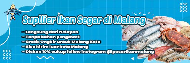 Desain Spanduk / Banner Jual Ikan Segar