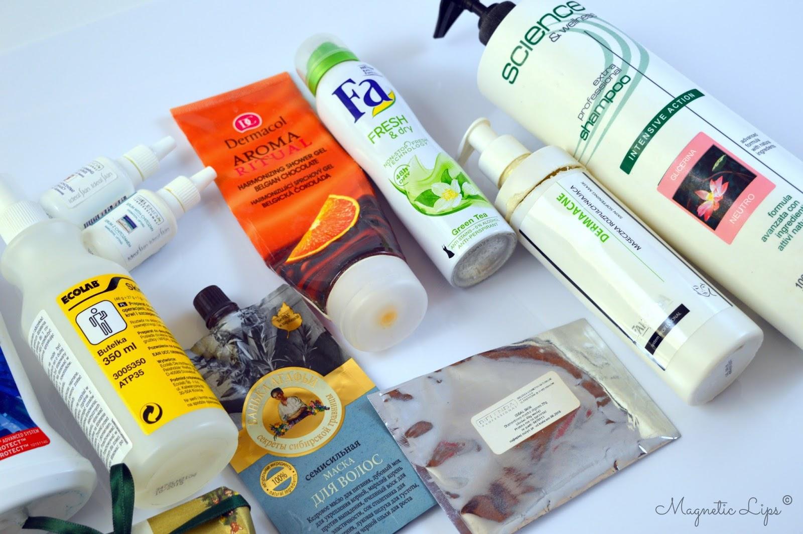 zużycia kosmetyczne