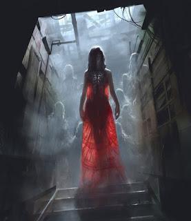 Resultado de imagen para la ciudad de los fantasmas corneja roja