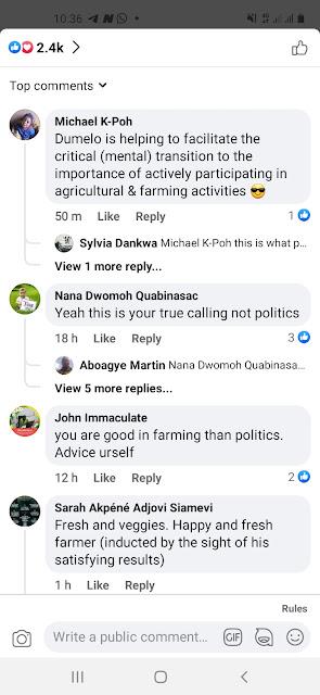 John Dumelo the farmer