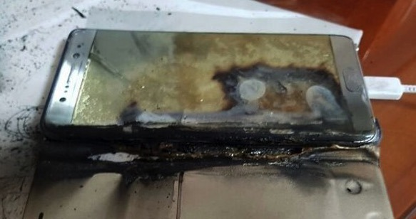 Finally Samsung Gives Reasons Why The Samsung Galaxy Note 7 Were Catching Fire