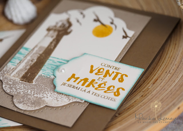 carte contre vents et marées Stampin' UP!