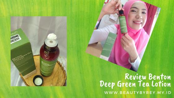 Kesimpulan Review Benton Deep Green Tea Lotion