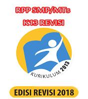 RPP Bahasa Indonesia Kelas 8 Semester 1 SMP/MTs K13 Revisi Terbaru