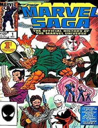 Marvel Saga: The Official History of the Marvel Universe