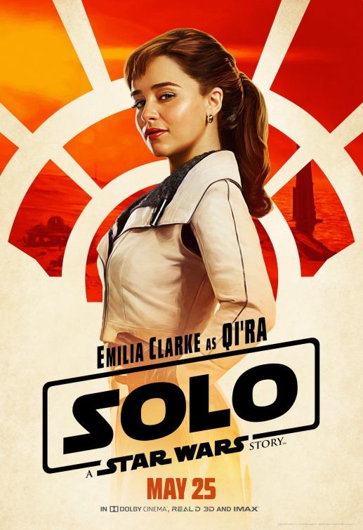 Sol Star Wars Qira poster