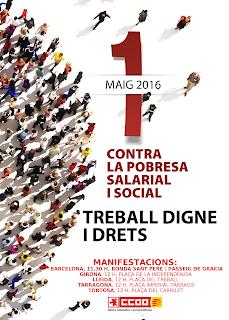 Contra la pobresa salarial i social. Treball digne i drets