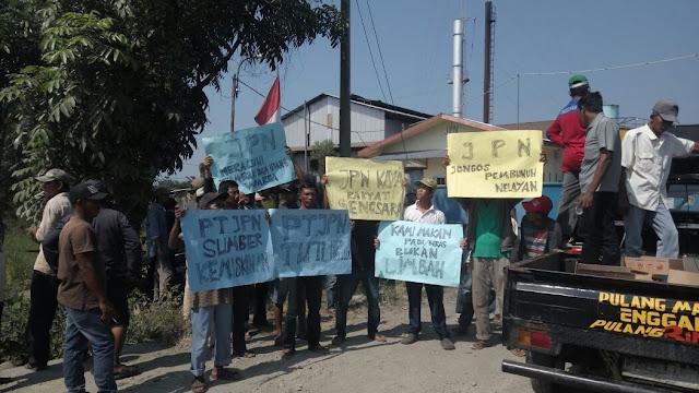 Dinilai Mencemari Lingkungan, Ratusan Warga Demo PKS PT JBN