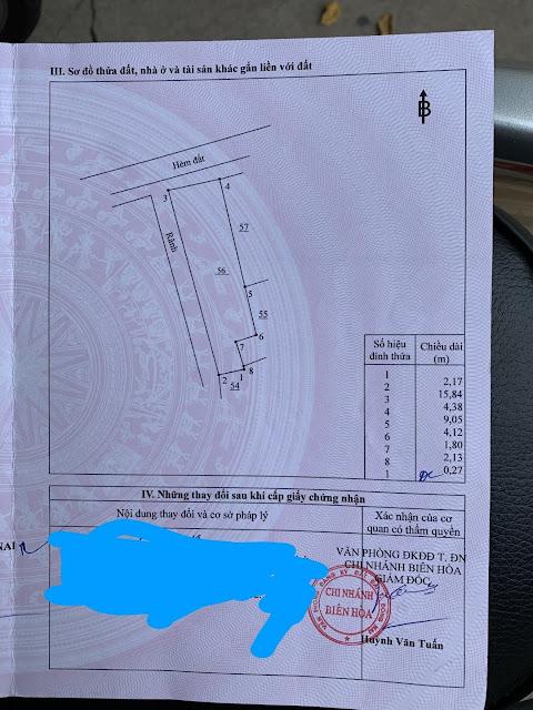 Bán nhà Phường Bửu Hòa giá rẻ 60.5mv