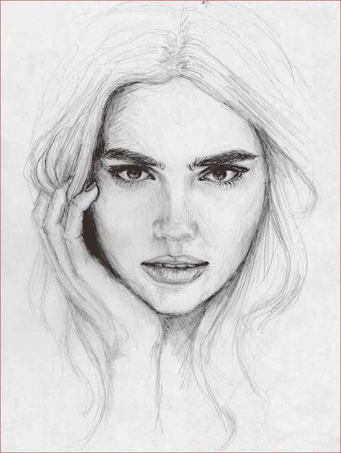 gambar-sketsa-wajah-manusia