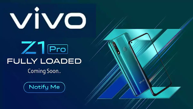 Vivo Z1 Pro Fully Loaded Launch in India Buy Online On Flipkart