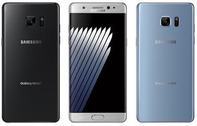 Samsung Galaxy Note 7 працюють на Android 7.0 Nougat