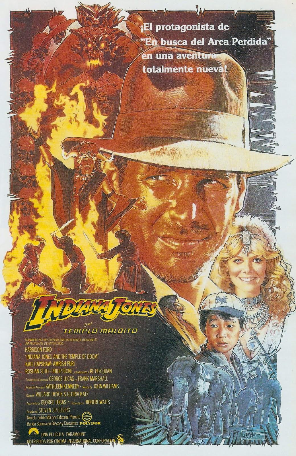 Indiana Jones y el templo maldito en #sofapelimanta