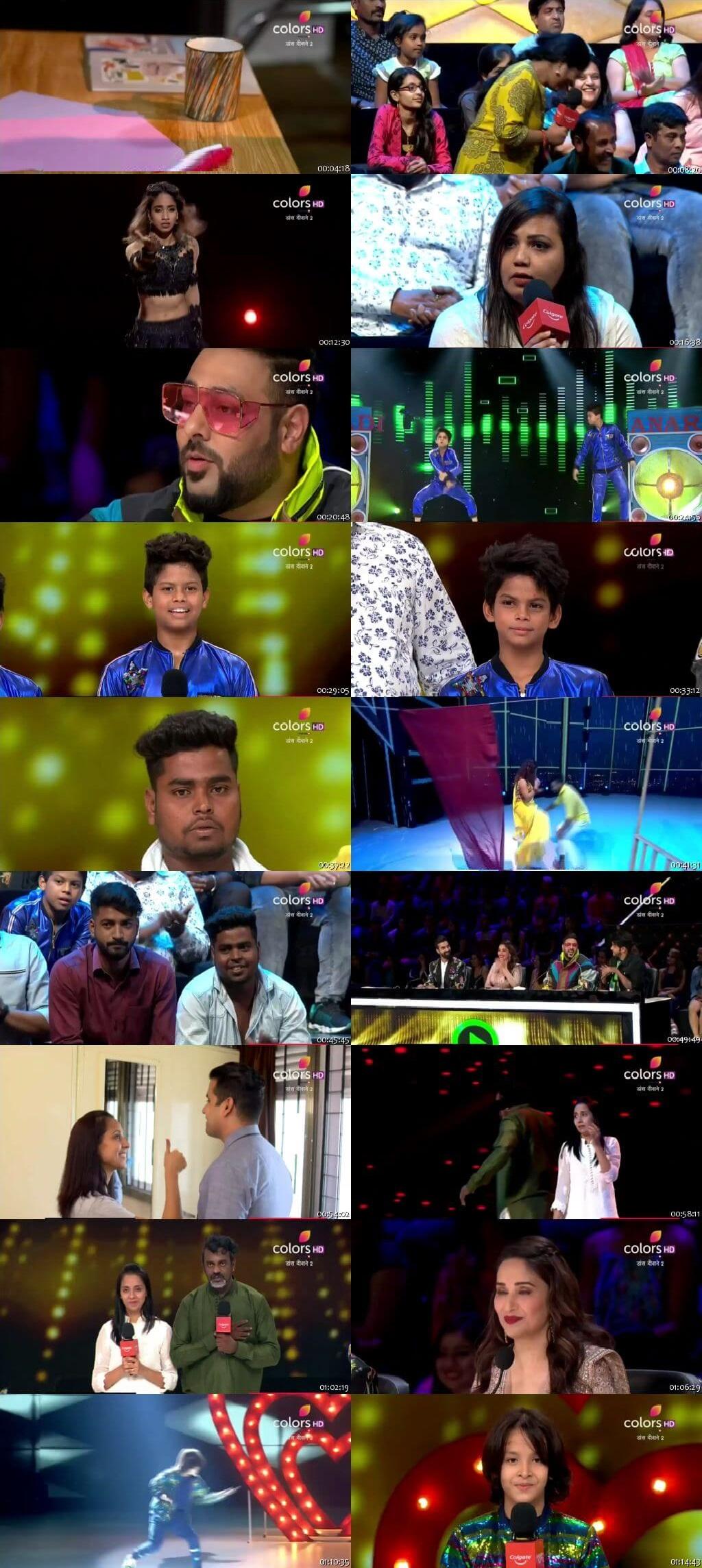 Screenshots Of Hindi Show Dance Deewane 2 20th July 2019 Episode 11 300MB 480P HD