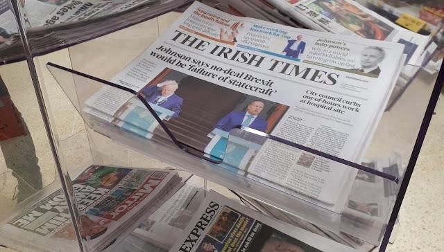 uutisten seuraaminen, uutisvirta, sanomalehti, the irish times, irish daily mirror, median seuraaminen, ulkosuomalainen