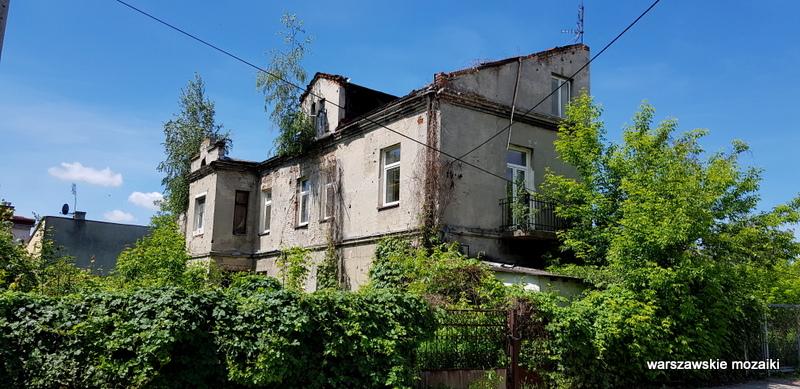 Warszawa Warsaw Białołęka Annopol Żerań Aleksandrówek ulice Warszawy kamienica zniszczone opuszczone