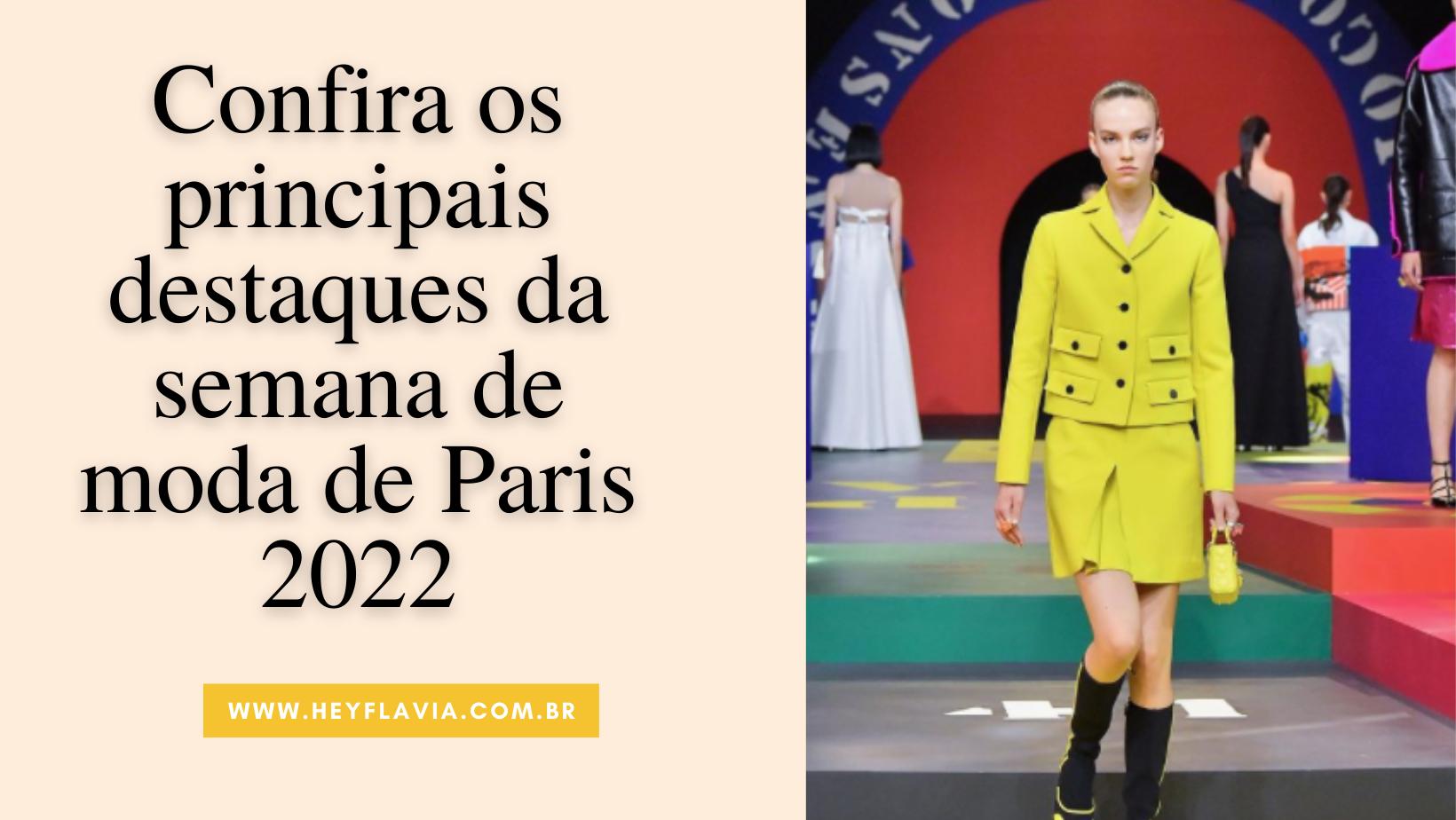 Semana de moda de Paris 2022