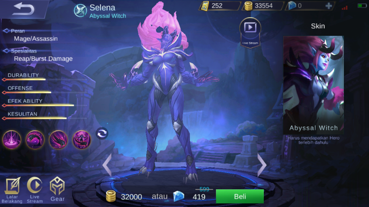 New Hero Selena Mei 2018 Mobile Legend Mobile Games Indonesia