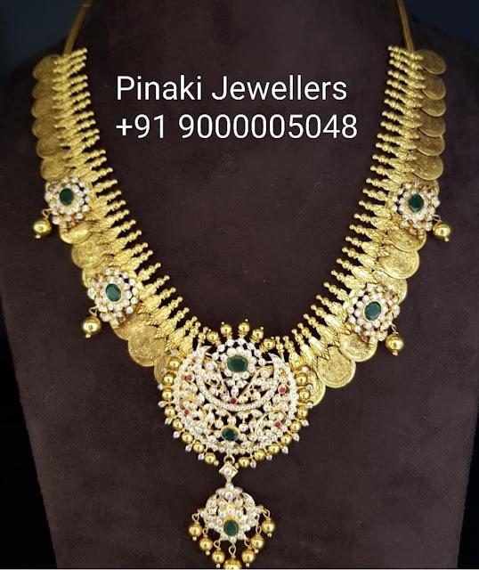 Kasu Mala by Pinaki Jewellers