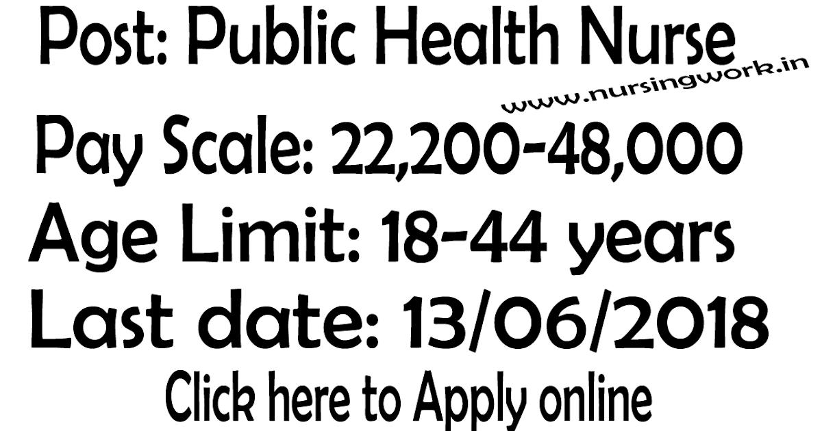 NURSING JOBS: Public Health Nurse Jobs- 22,200-48,000 Salary