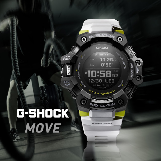 G-SHOCK Debuts First-Ever Model Featuring Built-In Heart Rate Monitor