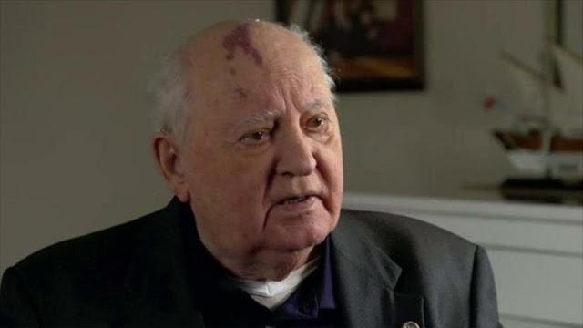 Gorbachov advierte del peligro de guerra nuclear entre Rusia y Occidente