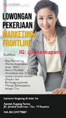 Lowongan Kerja ARRA Clinic Sebagai Marketing/Frontliner