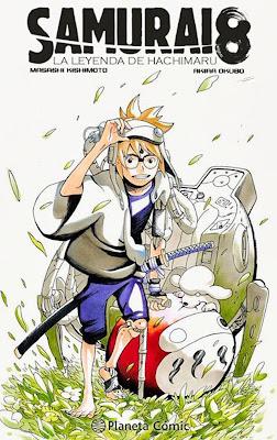 """Planeta Cómic lanza este octubre """"Samurai 8"""", el nuevo manga del autor de Naruto."""