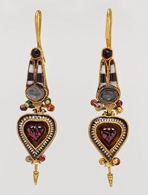 Ickynicks Jewelry: Ancient Greek Jewelry: History of Earrings