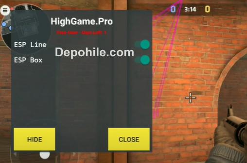 Critical Ops v1.26.x Highgame Menü ESP Hile Apk İndir 2021