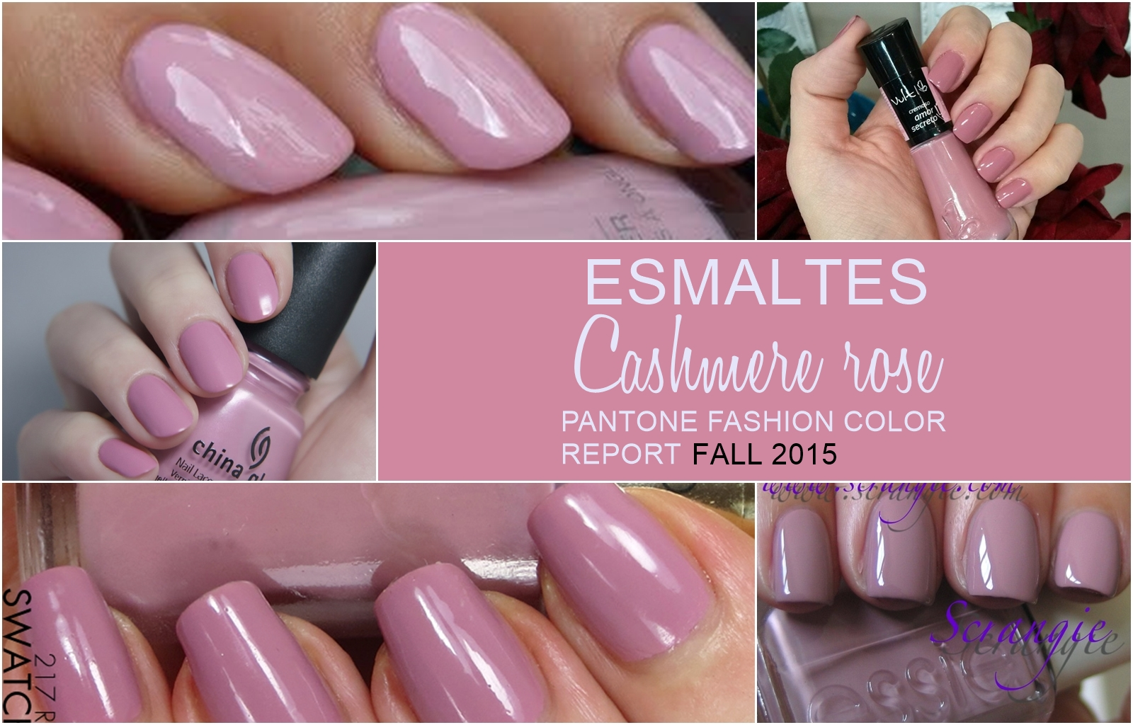 Pantone Fashion Color Report Fall 2015: Cashmere rose - Confesiones ...