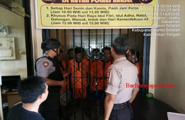 KASPKT Polres Barsel Cek Jumlah Dan Kondisi Tahanan