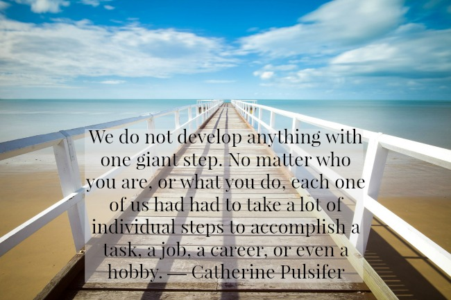 quote-we-do-not-develop-anything-with-one-giant-leap-catherine-pulsiifer-text-over-image-of-pier