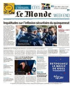 Le Monde Magazine 21 November 2020 | Le Monde News | Free PDF Download