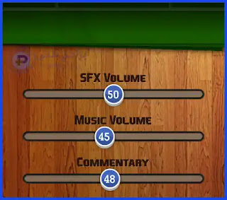 التحكم في المؤثرات الصوتية داخل اللعبة