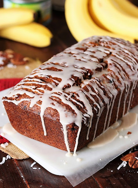 Loaf of Hummingbird Banana Bread Image
