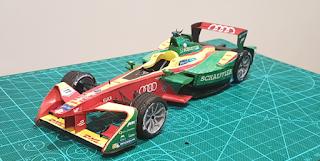 Audi Sport ABT Schaeffler - Formula E Team - Lucas Di Grassi - EPrix México 2016-2017
