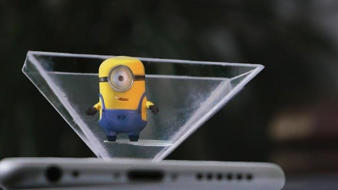 Imej Lebih Hidup Dengan 3D Hologram LED Fan Display