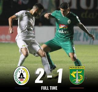PSS Sleman Taklukkan Persebaya 2-1 Highlights