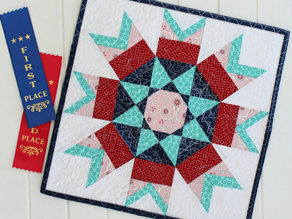 Rosette Mini Quilt + Your Free September Calendar