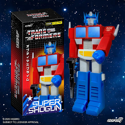 Transformers Optimus Prime Super Shogun Figure by Super7